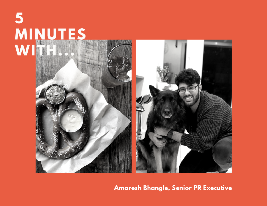 5 minutes with Amaresh Bhangle